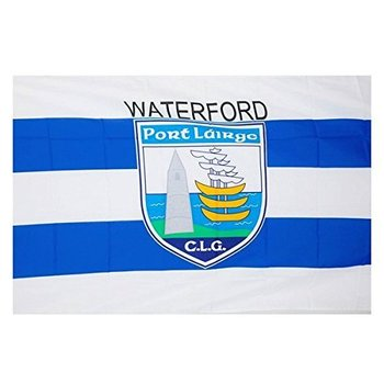OFFICIAL GAA CREST COUNTY FLAG - WATERFORD