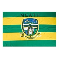 OFFICIAL GAA CREST COUNTY FLAG - MEATH