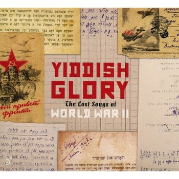 YIDDISH GLORY THE LOST SONGS OF WORLD WAR II (CD)