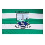 OFFICIAL GAA CREST COUNTY FLAG - FERMANAGH
