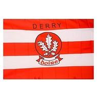 OFFICIAL GAA CREST COUNTY FLAG - DERRY