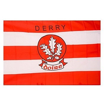 OFFICIAL GAA CREST COUNTY FLAG - DERRY