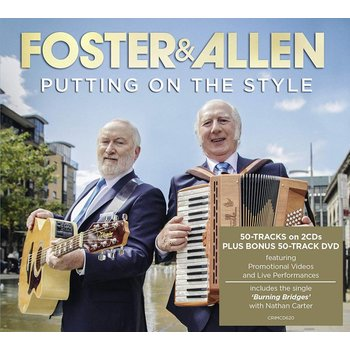 FOSTER AND ALLEN - PUTTING ON THE STYLE (CD/DVD)