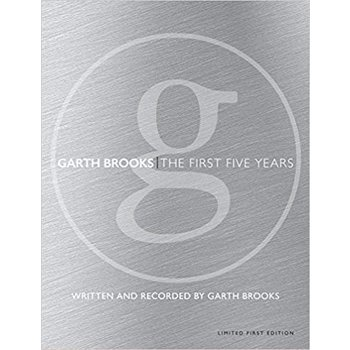 GARTH BROOKS - THE FIRST FIVE YEARS (BOOK & CD)