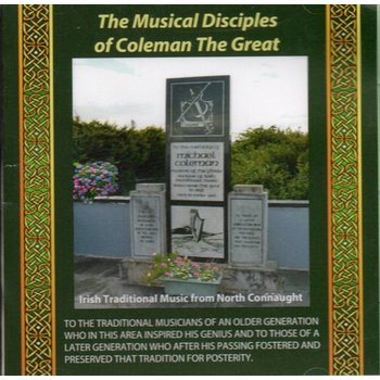 THE MUSICAL DISCIPLES OF COLEMAN THE GREAT - VARIOUS ARTISTS (CD)