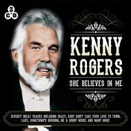 KENNY ROGERS - SHE BELIEVES IN ME (3 CD Set)...