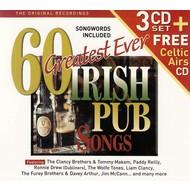 60 Greatest Ever Irish Pub Songs - Various Artists (CD)...