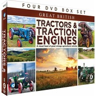 TRACTORS AND TRACTION ENGINES (4 DVD BOX SET )