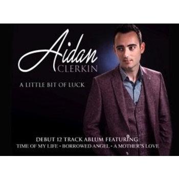AIDAN CLERKIN - A LITTLE BIT OF LUCK (CD)