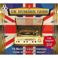 UK NUMBER ONES, NOVEMBER 1952-JULY 1958 (3 CD Set)...