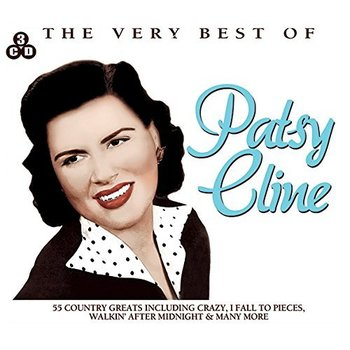PATSY CLINE - THE VERY BEST OF PATSY CLINE (3CD SET)