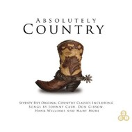 ABSOLUTELY COUNTRY - VARIOUS COUNTRY ARTISTS (3 CD Set)...