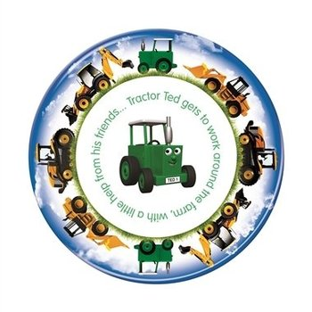 TRACTOR TED  PLATE