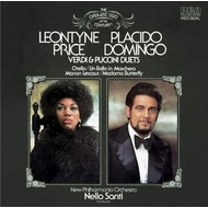 LEONTYNE PRICE & PLACIDO DOMINGO - VERDI & PUCCINI DUETS (CD)...
