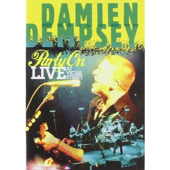 DAMIEN DEMPSEY - PARTY ON: LIVE AT VICAR STREET (DVD).