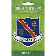 ARMAGH - COUNTY STICKER...