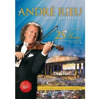 ANDRE RIEU - HAPPY BIRTHDAY A CELEBRATION OF 25 YEARS (DVD)