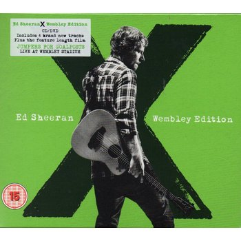 ED SHEERAN - X WEMBLEY EDITION JUMPERS FOR GOALPOSTS LIVE FROM WEMBLEY (CD/DVD)