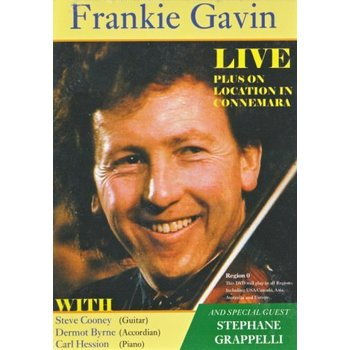 FRANKIE GAVIN - LIVE (DVD)