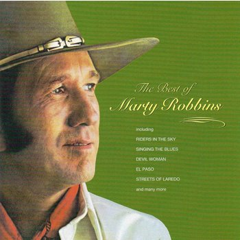 MARTY ROBBINS - THE BEST OF MARTY ROBBINS (CD)