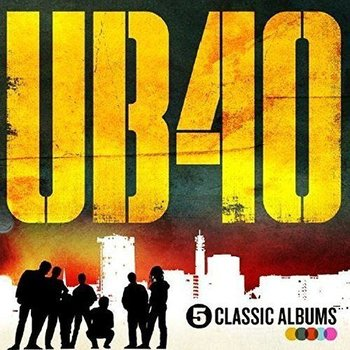 UB40 - 5 CLASSIC ALBUMS (CD)