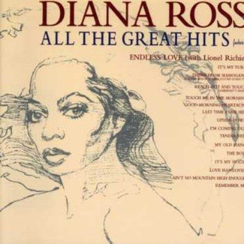 DIANA ROSS - ALL THE GREAT HITS (CD)