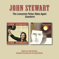 JOHN STEWART - THE LONESOME PICKER RIDES AGAIN / SUNSTORM (CD).. )