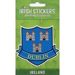 DUBLIN  - COUNTY CREST STICKER...