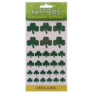 TATTOOS - TEMPORARY MULTI SHAMROCK GLITTER TATTOOS...