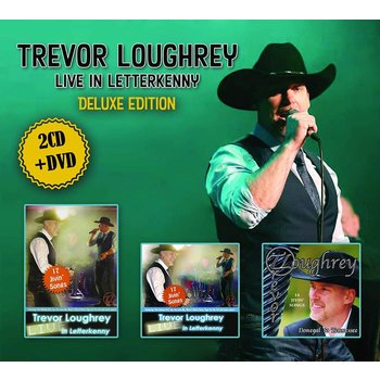 TREVOR LOUGHREY - LIVE IN LETTERKENNY DELUXE EDITION (CD / DVD)