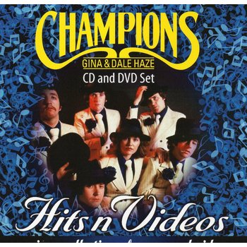 GINA AND DALE HAZE AND THE CHAMPIONS - HITS N VIDEOS (CD/ DVD)