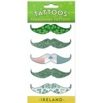 TATTOOS - TEMPORARY MOUSTACHE TATTOOS...