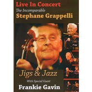 STEPHANE GRAPPELLI - THE INCOMPARABLE STEPHANE GRAPPELLI LIVE IN CONCERT (DVD).