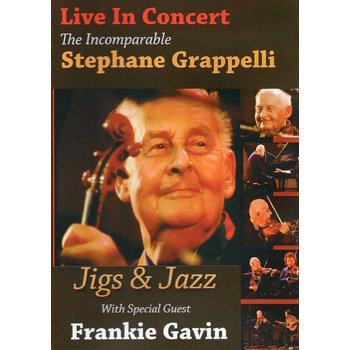 STEPHANE GRAPPELLI - THE INCOMPARABLE STEPHANE GRAPPELLI LIVE IN CONCERT (DVD)