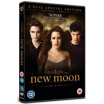 THE TWILIGHT SAGA NEW MOON - DVD