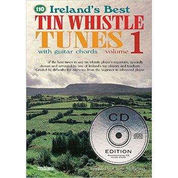 Claire McKenna - 110 Best Tin Whistle Tunes Volume 1 Book with CD
