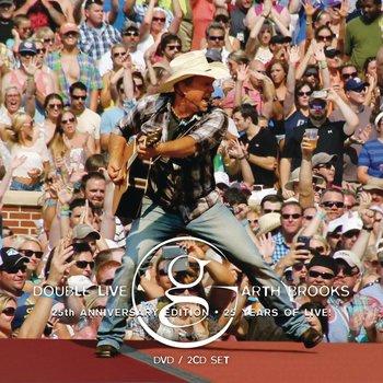 GARTH BROOKS - DOUBLE LIVE (CD/DVD)