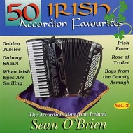 SEAN O'BRIEN - 50 IRISH ACCORDION FAVOURITES (CD)...