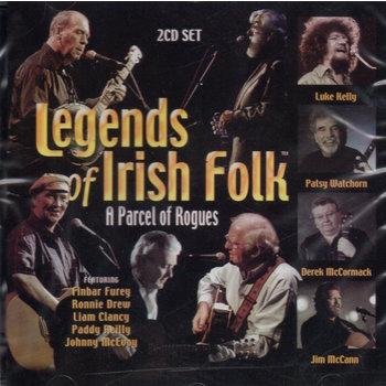 LEGENDS OF IRISH FOLK, A PARCEL OF ROGUES - VARIOUS ARTISTS (CD)