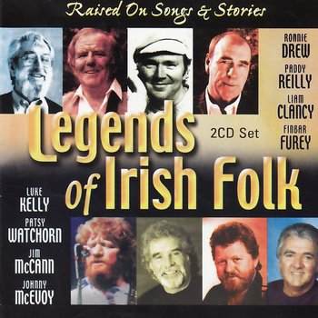 LEGENDS OF IRISH FOLK, RAISED ON SONGS AND STORIES - VARIOUS ARTISTS (CD)
