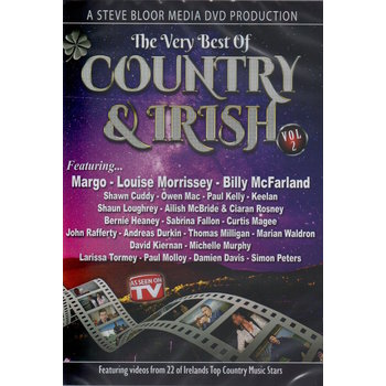 THE VERY BEST OF COUNTRY & IRISH VOLUME 2 - VARIOUS ARTISTS (DVD)