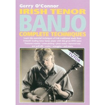 GERRY O'CONNOR - IRISH TENOR BANJO COMPLETE TECHNIQUES DVD