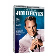 JIM REEVES - THE GREAT JIM REEVES 50TH ANNIVERSARY COMMEMORATIVE EDITION (CD)...