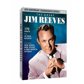 JIM REEVES - THE GREAT JIM REEVES 50TH ANNIVERSARY COMMEMORATIVE EDITION (CD)