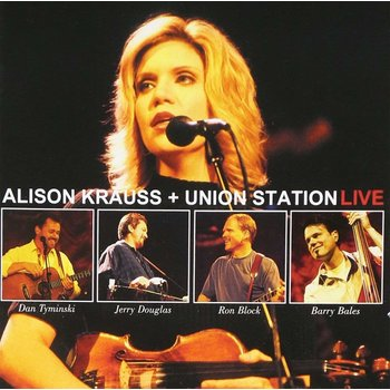 ALISON KRAUSS AND UNION STATION - LIVE (CD)