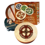 "WALTONS - 18"" KNOTWORK CROSS BODHRAN"