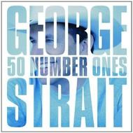 GEORGE STRAIT - 50 NUMBER ONES (CD).