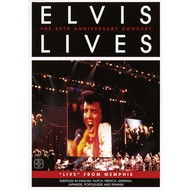 ELVIS PRESLEY - ELVIS LIVES, 25TH ANNIVERSARY CONCERT LIVE FROM MEMPHIS (DVD).