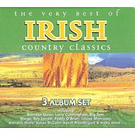 THE VERY BEST OF IRISH COUNTRY CLASSICS - VARIOUS IRISH ARTISTS (3 CD SET)...