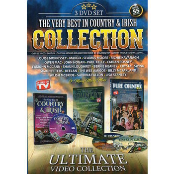 THE VERY BEST IN COUNTRY & IRISH COLLECTION (DVD)